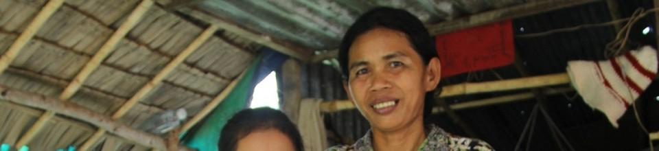 Une cliente d'une institution de microfinance
